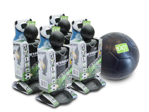 EXIT Striker Streetsoccer (4st.) + EXIT Mini Foam Ball (ø15cm)