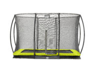 EXIT Silhouette Ground + Safetynet Rect. 244x366 (8x12ft) Lime