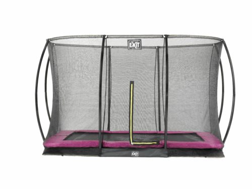 EXIT Silhouette Ground + Safetynet Rect. 244x366 (8x12ft) Pink