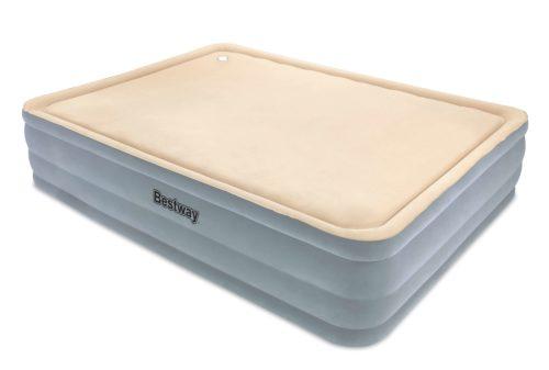 Bestway Luchtbed foamtop comfort queen - beige/grijs | Buitenspeelgoed