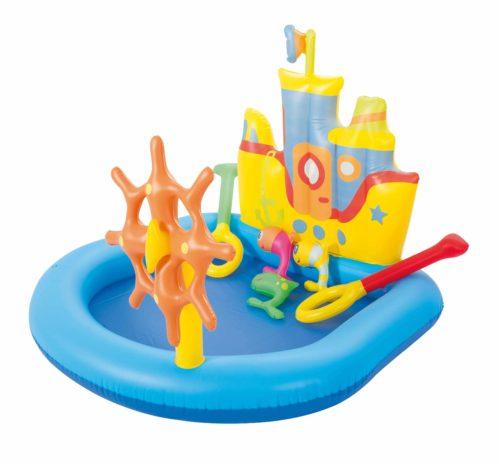Bestway Playcenter sleepboot 140cm x 130cm x 104cm | Buitenspeelgoed