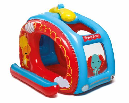 Bestway Fisher-Price playcentre helicopter met ballen - multicolor