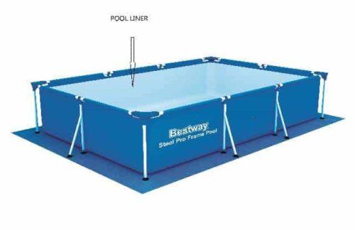 Bestway Liner Passaat 400cm x 211cm x 81cm - blauw | Buitenspeelgoed