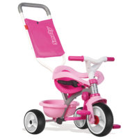 Smoby Be Move Comfort Driewieler 3in1 - Roze