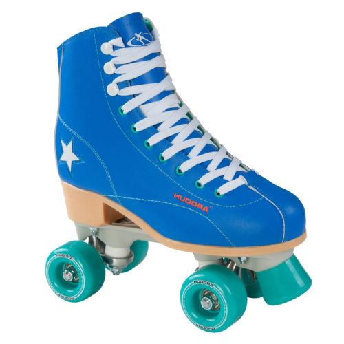 Hudora Disco Rolschaatsen Blauw/Mintgroen
