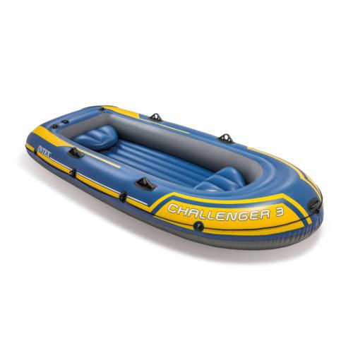Intex Challenger 3 Opblaasboot met Pomp en Peddels