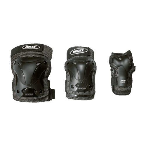 Roces Ventilated bescherming bescherming 3-pack - zwart