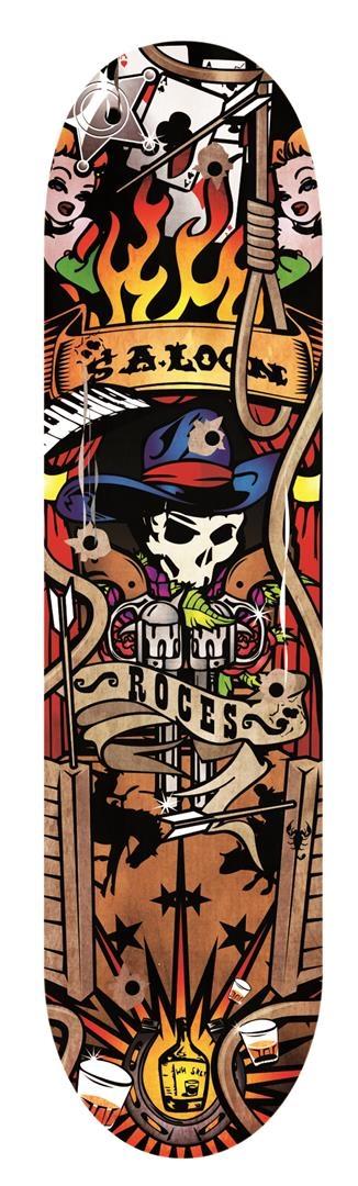 Roces Cowboy Skateboard 79 cm