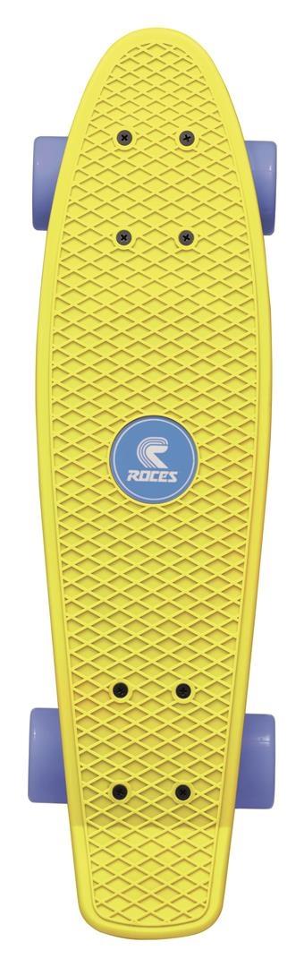 Roces Minicruiser Skateboard MC1 56 cm - geel/blauw