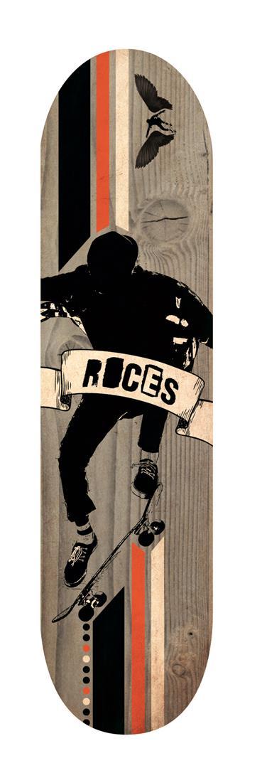 Roces Trick Skateboard 500 79 cm