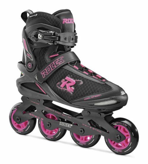 Roces Inline Skate PIC dames - zwart/roze