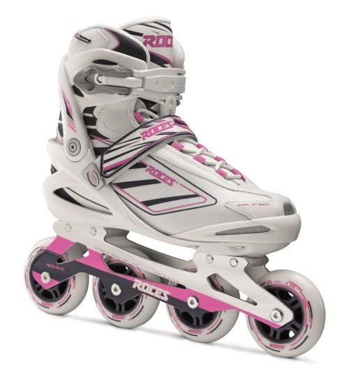 Roces Inline Skate IZI dames - wit/roze