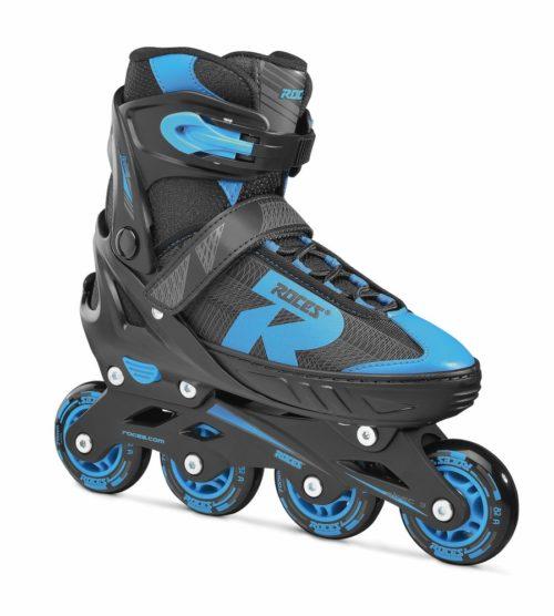 Roces Kinderskeelers jongens Jokey 2.0 verstelbaar - zwart/blauw