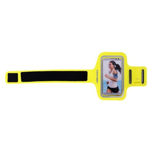Tempish Smartphone Sportarmband Fix Case 5 inch - geel