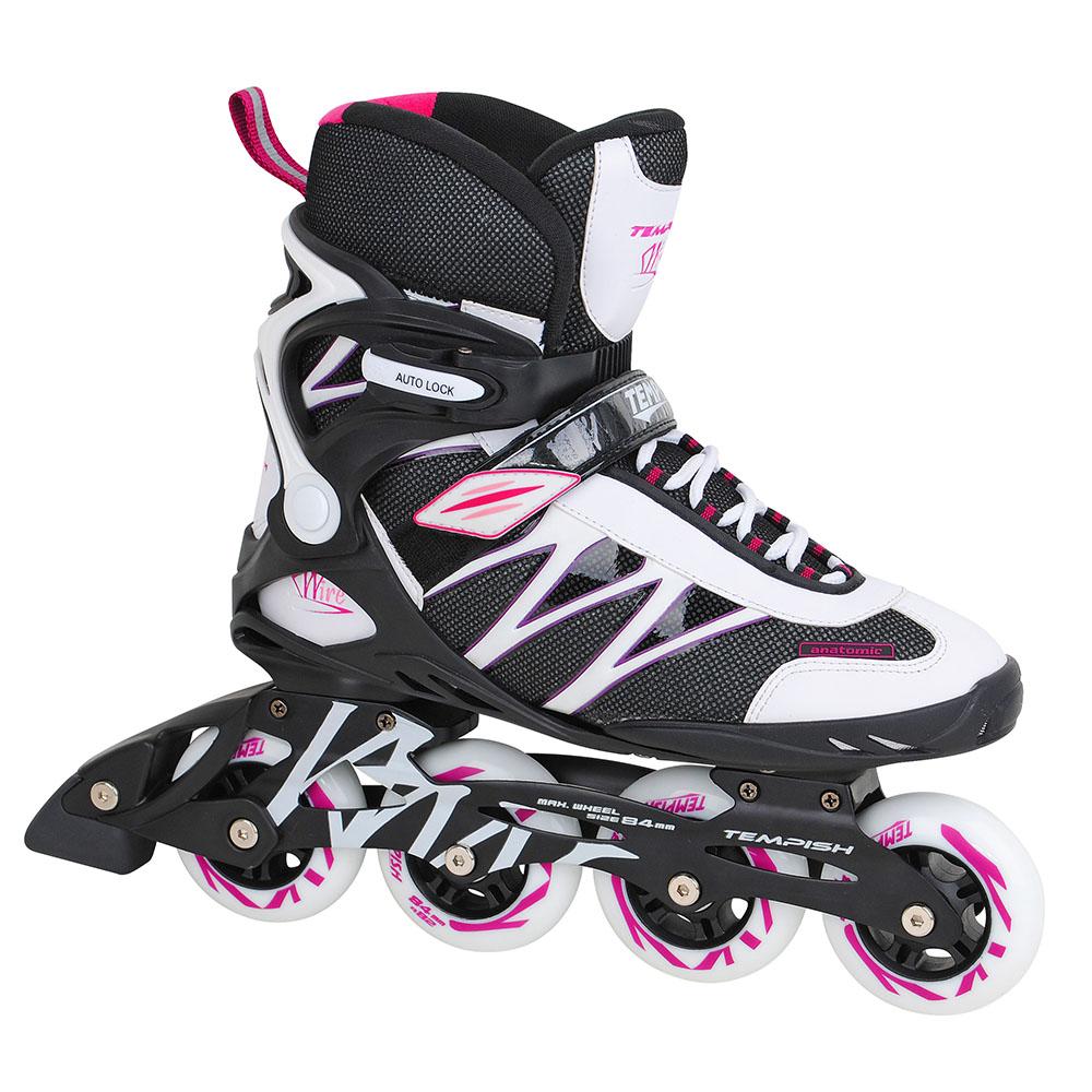 Tempish Inline Skate Dames Skeelers Wire - zwart/wit