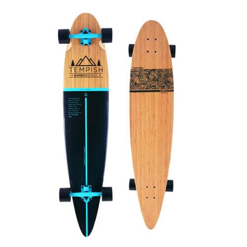 Tempish Longboard Flow 117 cm - bruin/zwart