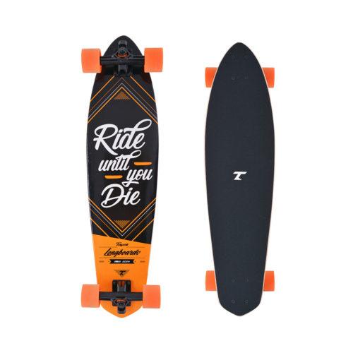 Tempish Longboard Ride 81 cm - oranje/zwart