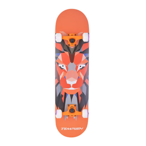 Tempish Skateboard Lion Blue 79 cm - oranje