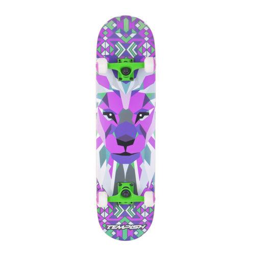 Tempish Skateboard Lion Blue 79 cm - paars