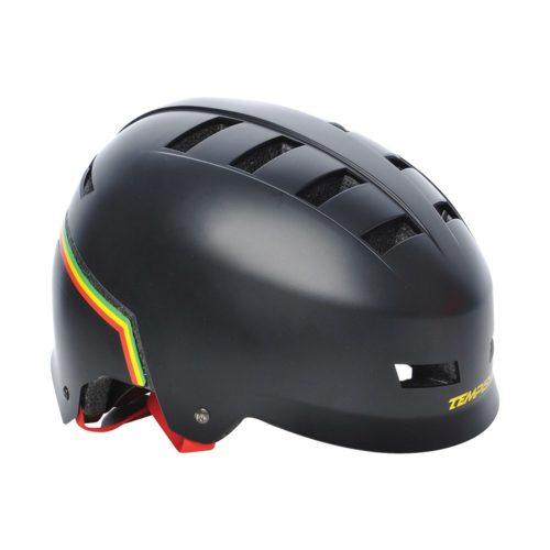 Tempish Helm Hybrid Rasta - zwart