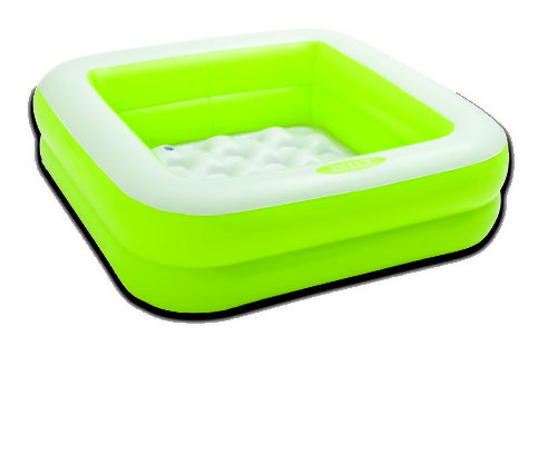 Intex Vierkant babyzwembad-Groen
