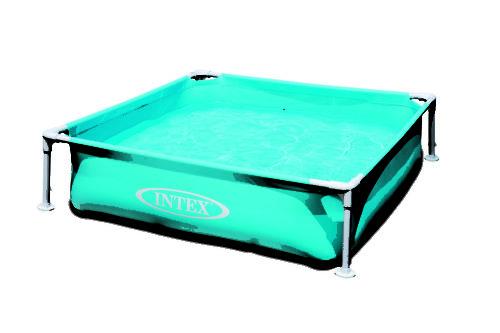 Intex Kinderzwembad met frame-Blauw