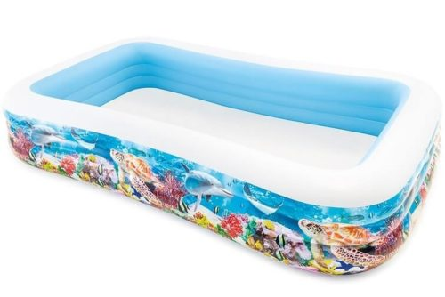 Intex Groot opblaaszwembad 'Tropical Reef'