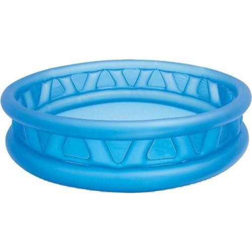Intex rond opblaasbaar zwembad 188 cm blauw 10025145