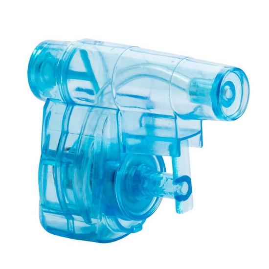 Blauw waterpistooltje 5 cm 10058150
