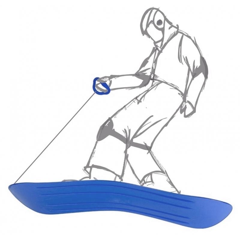 Waterpistool van foam 44 cm 10155181