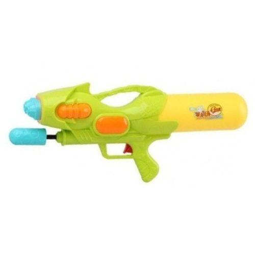 Waterpistool met pomp groen/geel 47 cm 10154233