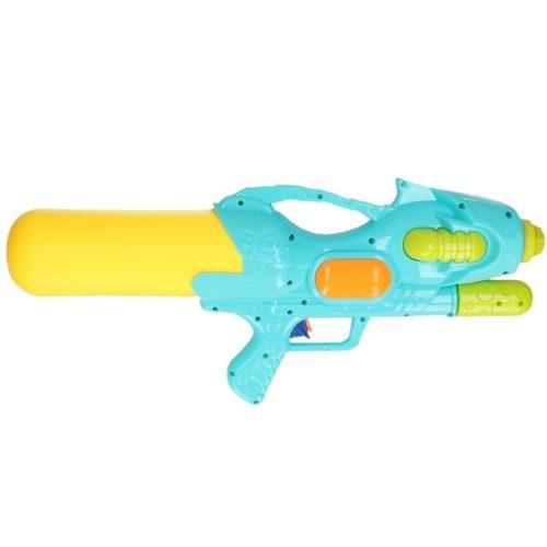 Waterpistool met pomp blauw/geel 47 cm 10154234