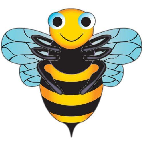 Bijen vlieger 76 x 112 cm 10109290