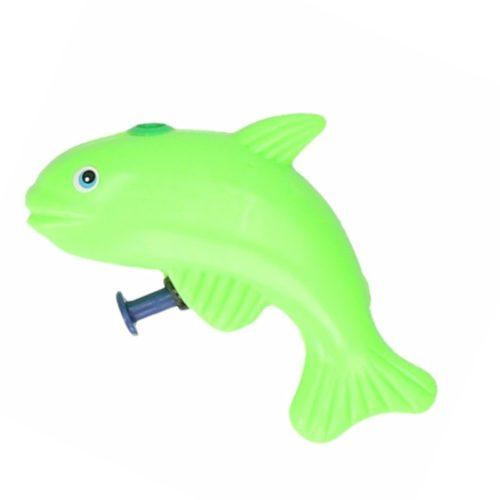 Vis waterpistool groen 9 cm 10087352
