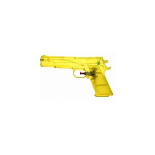 Gele waterpistolen 20 cm 10070364