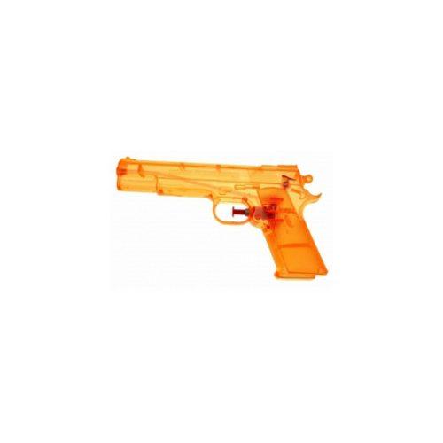 Oranje waterpistolen 20 cm 10070365