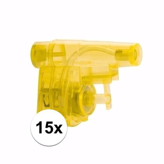 Kleine kadootjes waterpistooltjes 15x 10090366