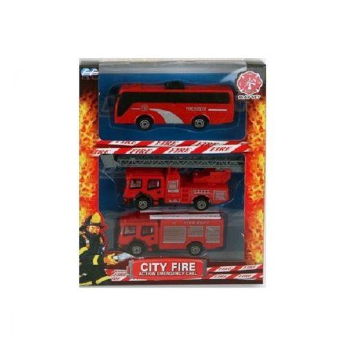 Speelgoed auto brandweerwagen set 10173423