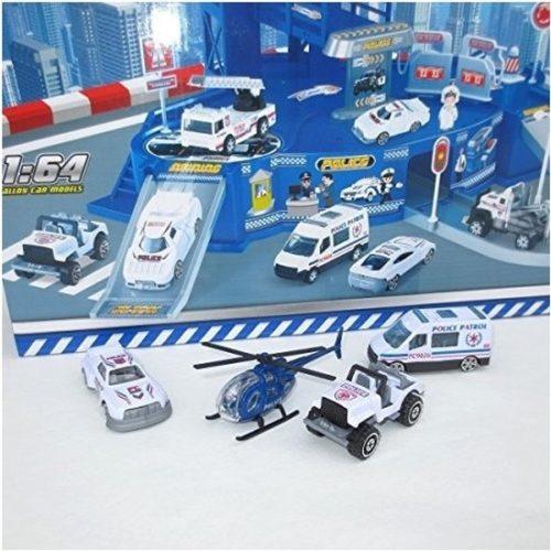 Speelgarage met politie autos 10082429