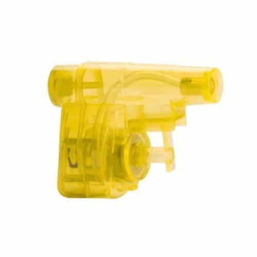 Geel waterpistooltje 5 cm 10089436