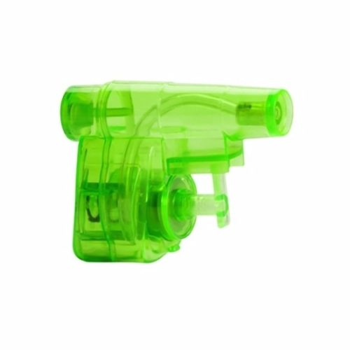 Groen waterpistooltje 5 cm 10089442