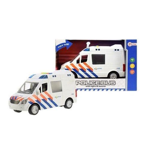 Speelgoedauto politiewagen 17 x 28 x 12 cm 10122455