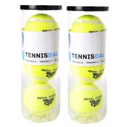 6x Tennisballen in koker 10153529