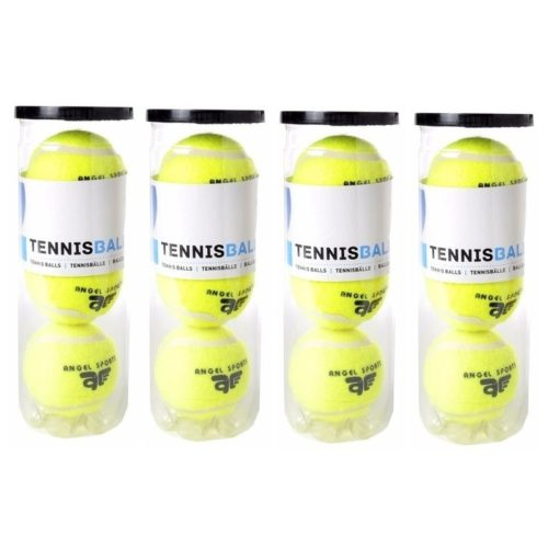 12x Tennisballen in koker 10153553