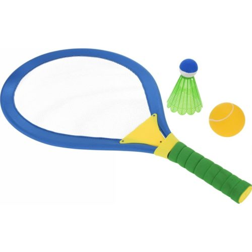 4-delige tennis/badminton set groot 10117573
