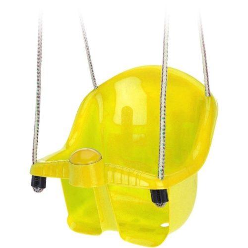 Gele peuterschommel met touw 10148680