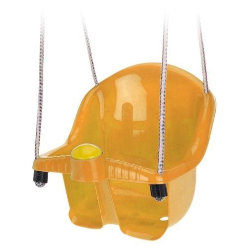 Oranje peuterschommel met touw 10148683