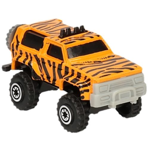 Roze/blauwe zandbak speelauto 6-delig 10083755